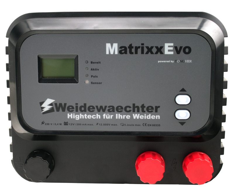 MatrixxEvo LCD + ZaunMonitor